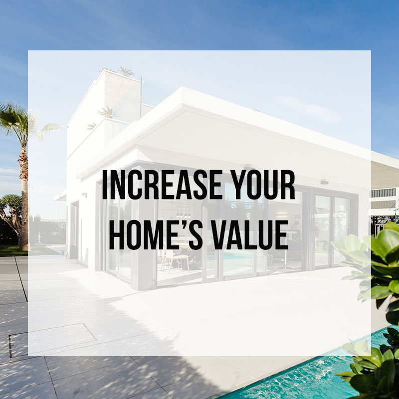 Increasing the value of your home through interior design