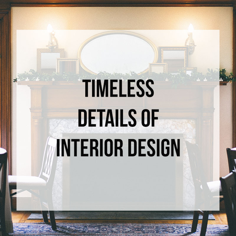 Timeless interior design